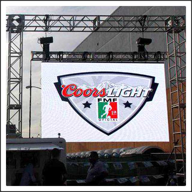 P5 Outdoor LED Rental Display Screen with Die Casting Cabinet