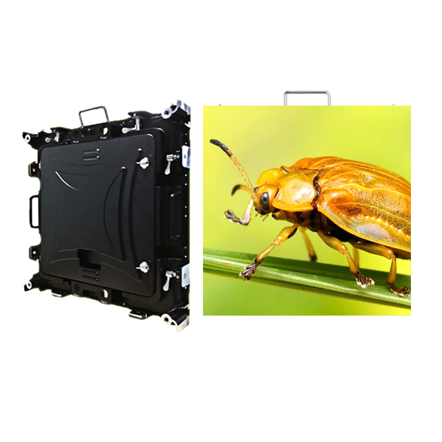 P6.67mm Outdoor 640x640mm Waterproof Rental LED Screen Display