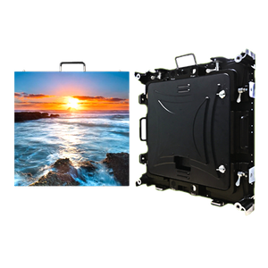 P2.5mm Outdoor 640x640mm Waterproof HD Rental LED Display Wall