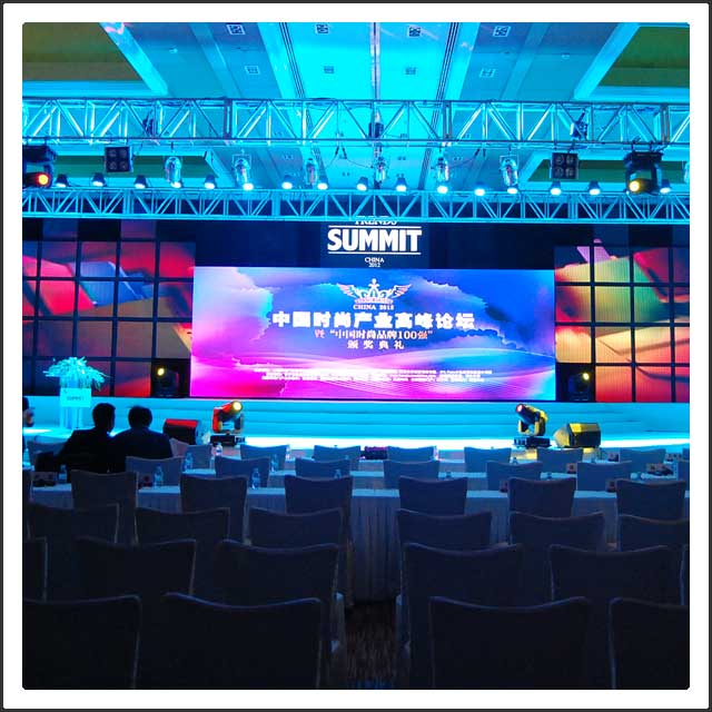 P4mm LED Display Screen Video Wall for Hiring