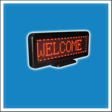 Programmable Desktop LED Scrolling Message Display Sign, Cashier Board