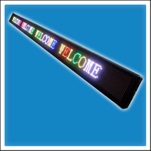 P10mm 16 Pixels Height DIP LED Programmable Message Display Sign