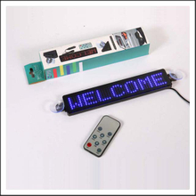 HTS-Z74 Remote Controlling LED Scrolling Message Sign Board