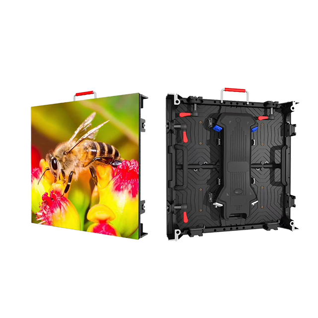 P4.81mm Indoor 500x500mm Rental LED Display Screen Wall for Events